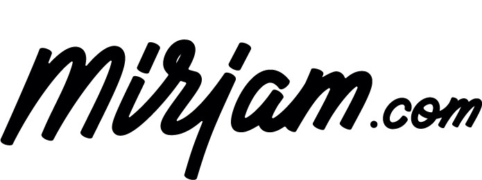 Logo Mirjam.com